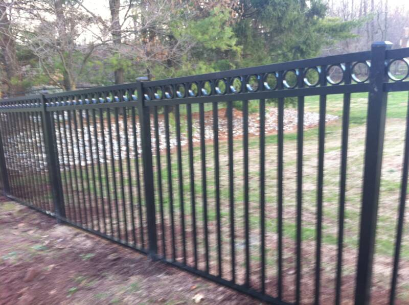 We Sell Amp Install Puppy Picket Aluminum Fencing Ornamental